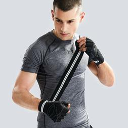 Gym Sport Gloves for Powerlifting, Cross Training, Workout,