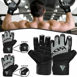 RDX Gym Weight Lifting Training Gloves For Workout Fitness E