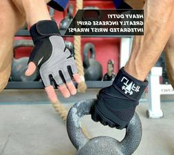 Half Finger Workout Gym Gloves Sport Weight Lifting Exercise