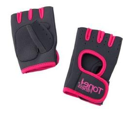 Tone Fitness HHWG-TNPINKS Tone Pink Weightlifting Gloves-Sma