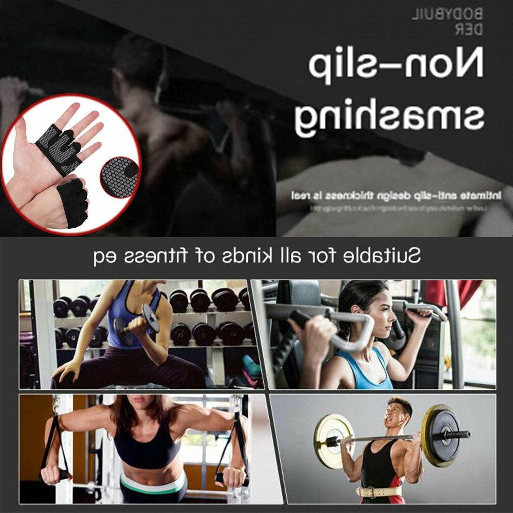 Weight Sport Fitness Gym Exercise Training Half Finger
