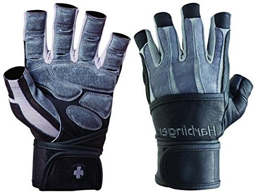 Harbinger Wristwrap Weight Lifting Gloves XL
