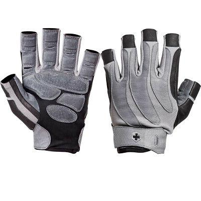 1315 bioform weight lifting gloves black gray
