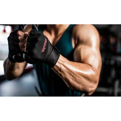 Harbinger Ventilated Pro Wristwrap Weight Gloves -