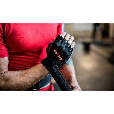 Harbinger 140 Ventilated Wristwrap Lifting - Black