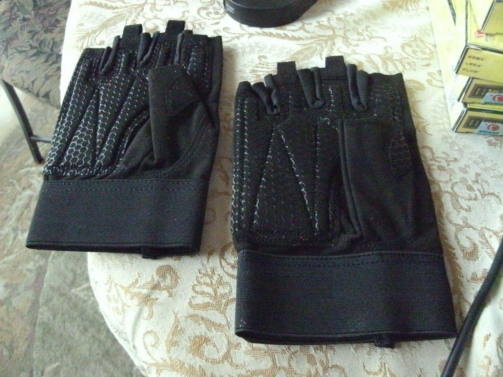 2# Trideer Gloves Full Palm Protection & Extra Gym