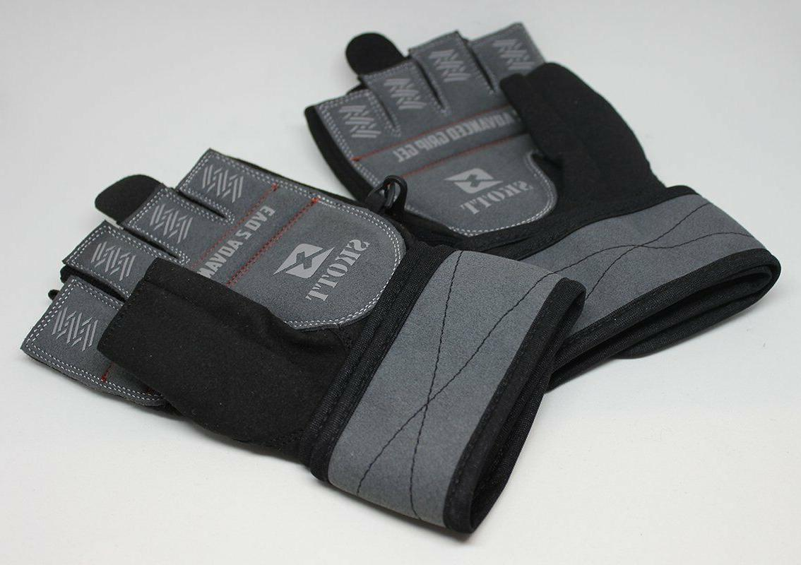 2016 Evo 2 Gloves with Integrated Wrist Wrap Support