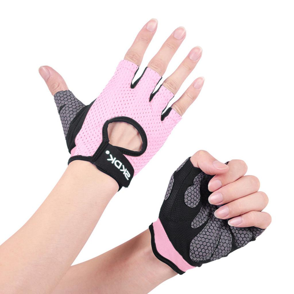 Womail Fitness <font><b>Weightlifting</b></font> <font><b>Gloves</b></font> Quality Weight Protection Hands Fitness <font><b>Glove</b></font>