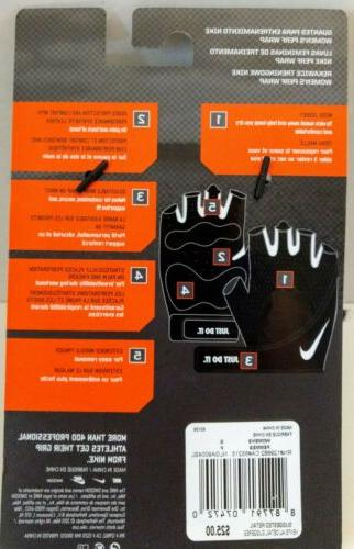 Authentic Nike Women's Wrap Crossfit Gloves, Size