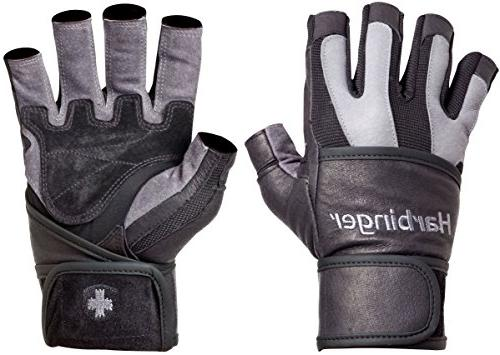 Harbinger Grip Leather Palm , Small