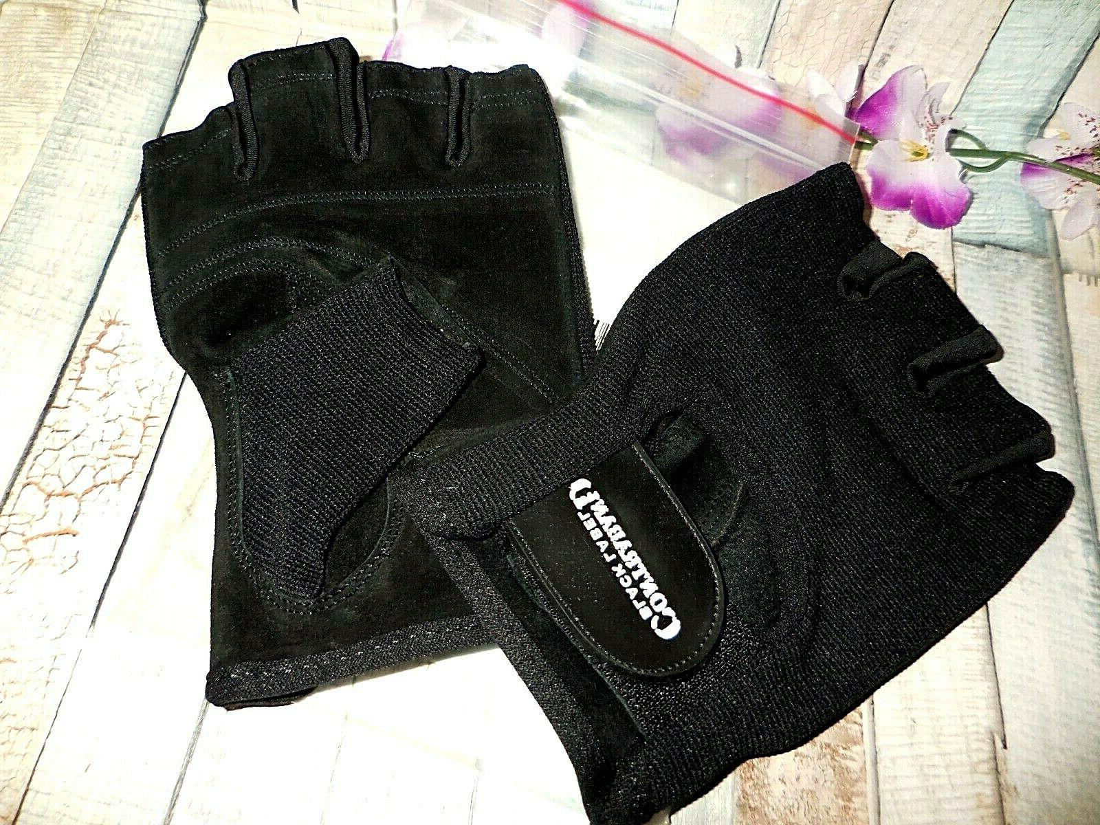 CONTRABAND BLACK LABEL WEIGHT GLOVES LARGE