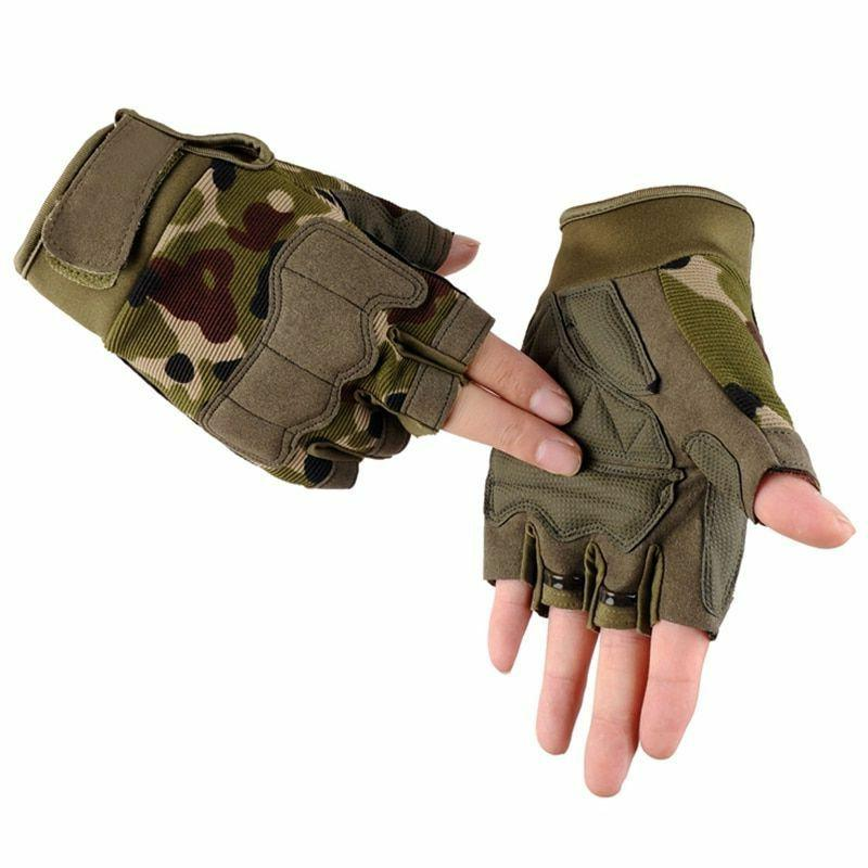 bodybuilding fitness gloves wrist wrap tactical sports