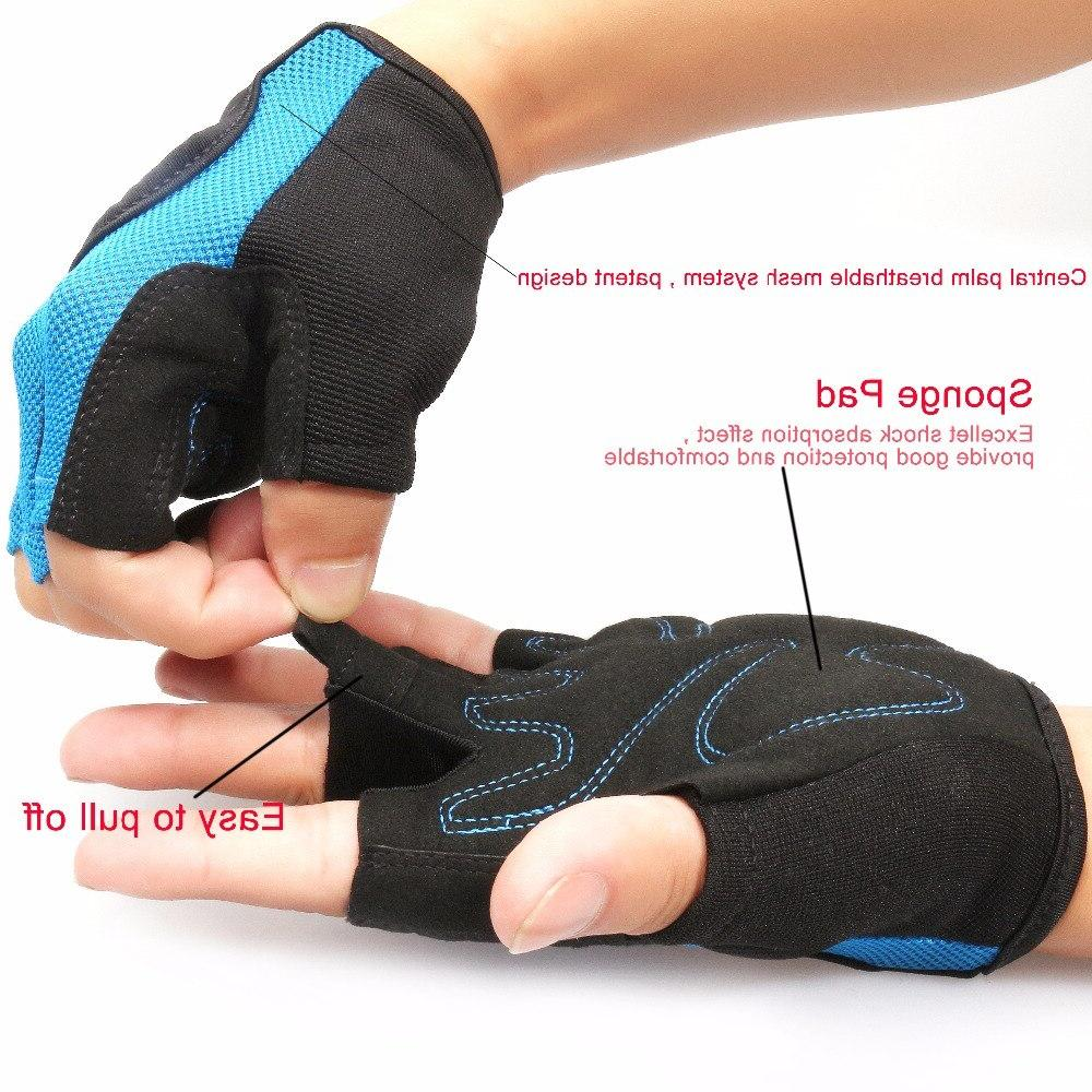 Bodybuilding <font><b>Gloves</b></font> Gym Slip Gym Fingerless <font><b>Glove</b></font> <font><b>Sports</b></font> <font><b>Fitness</b></font> Women