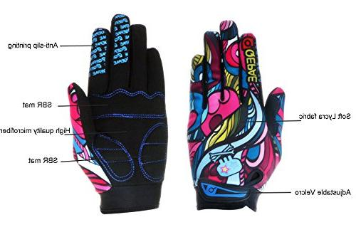 YYGIFT Unisex Breathable Cycling Gloves Anti-Slip Gel for Riding Skiing Hunting L