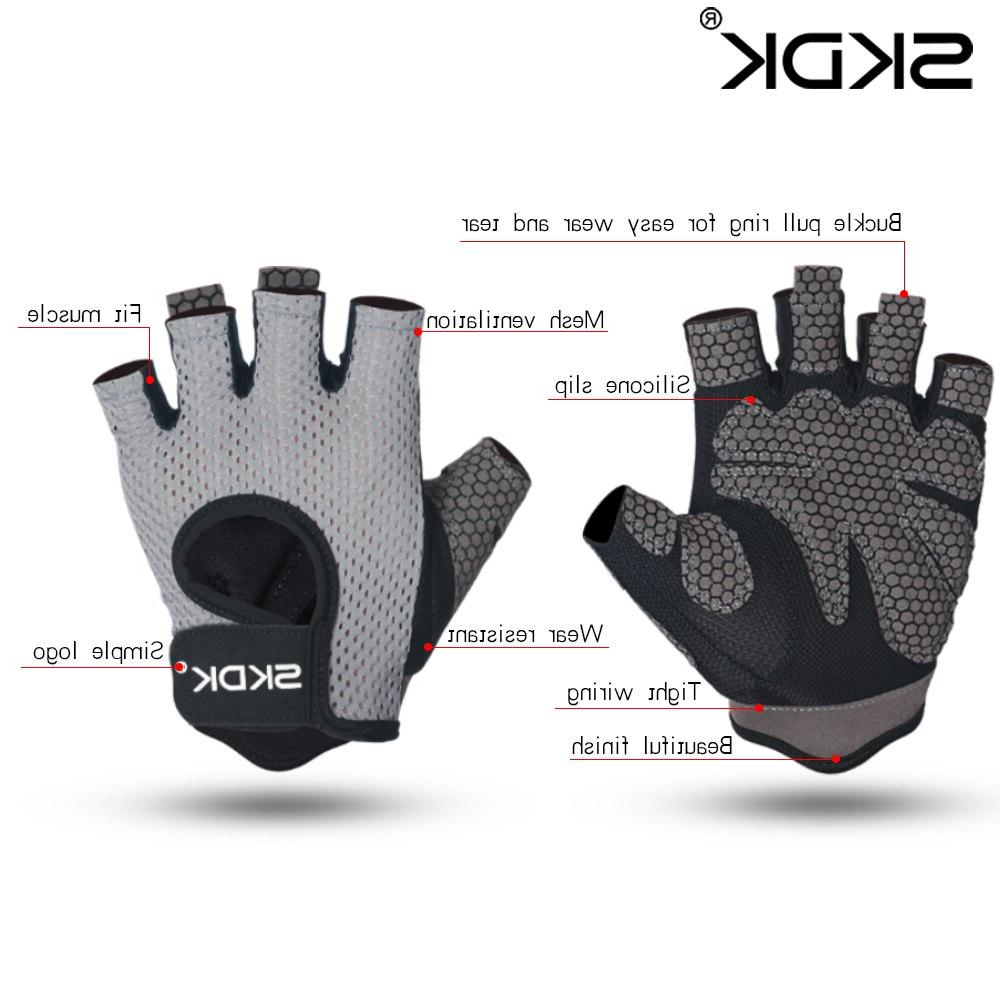 Palm Hollow Back <font><b>Gloves</b></font> Workout Dumbbell Crossfit