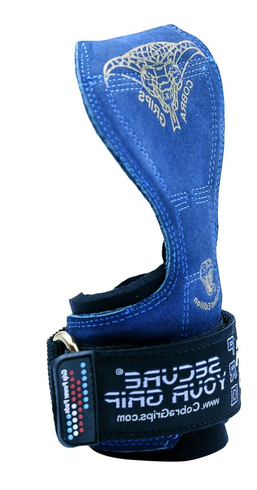 Cobra Weight Lifting Wraps Grips Gloves