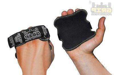 WORKOUT GLOVES Black Fitness Training Grips