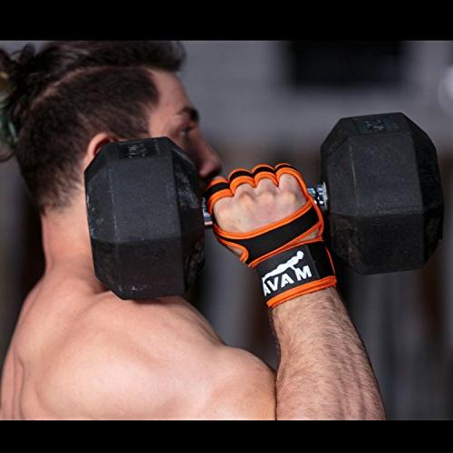 Cross Training Gloves with Wrist Support for WOD, Workout & - Padding to - both & Women,