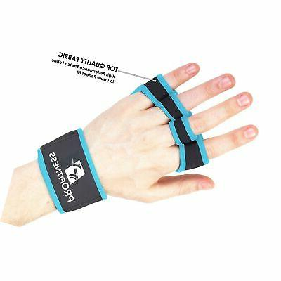 ProFitness Training Non-Slip Palm Silicone Lifting Glove