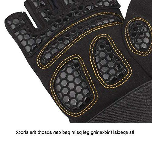 Trideer Double Lifting Gloves Breathable Workout Gloves for Women )
