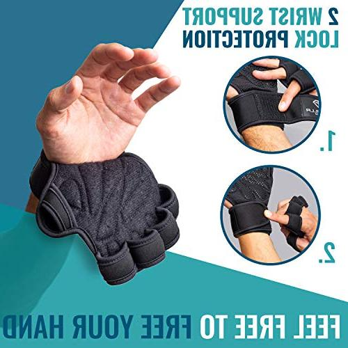 Godzilla for Black Wrist Support Palm Protection Training