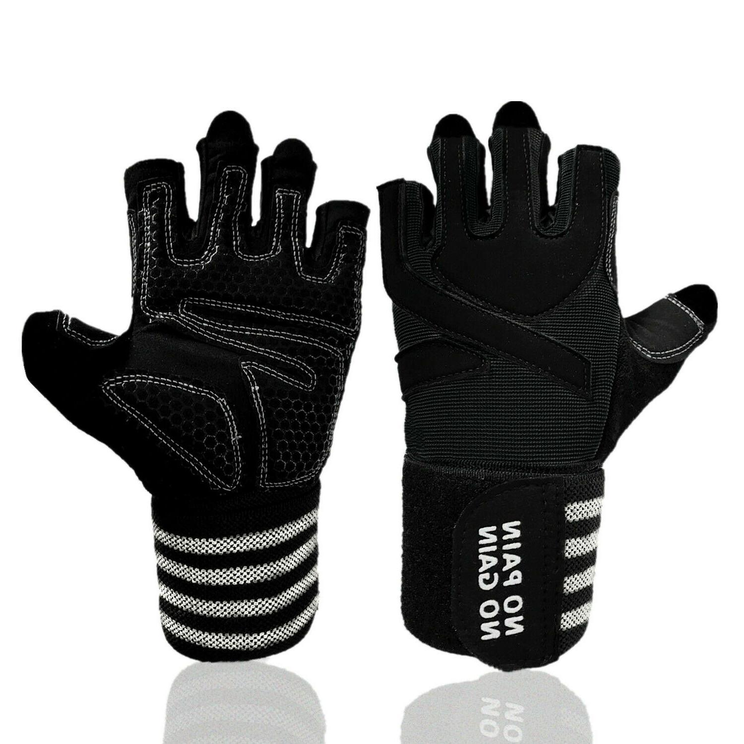Wrist Wrap Support Gym Gloves For Weight Lifting/Sports/Trai
