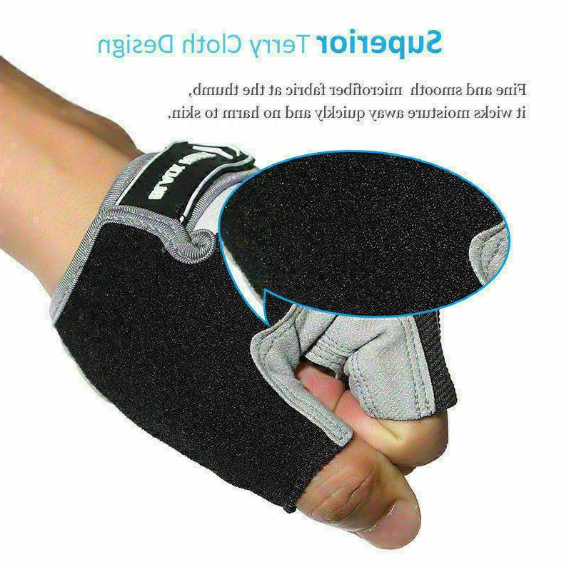 Fitness Men Gloves Workout Weight Lifting
