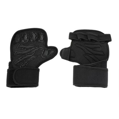 Fitness Sports Weightlifting Anti-slip Workout Half Crossfit Grips