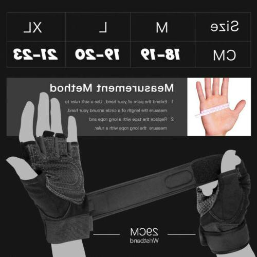 Fitness Wrist Training Lifting Gloves Bodybuild