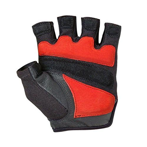 Harbinger FlexFit Gloves Cushioned Leather Palm