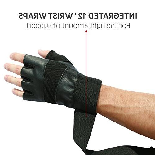 """Nordic Gloves With 12"""" Support Gym Weightlifting,Fitness,Powerlifting Training Sports-The Best Men & Year Warranty"""