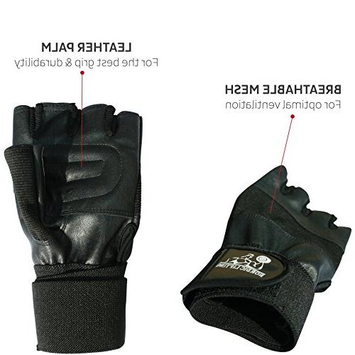 """Nordic Weight Gloves With 12"""" Weightlifting,Fitness,Powerlifting & Cross Sports-The Best For & Women Year Warranty"""