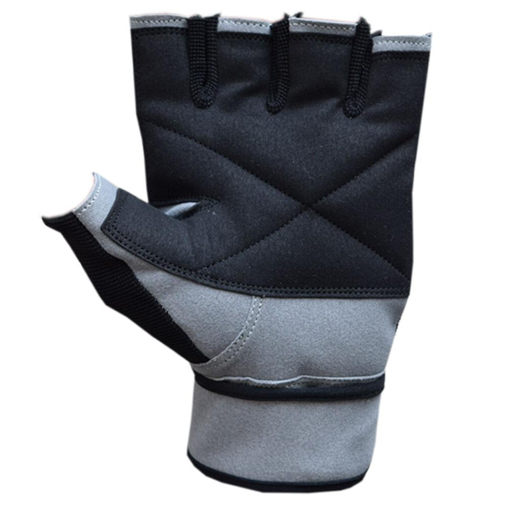 Grip Weight Gym Leather with Wrist Straps