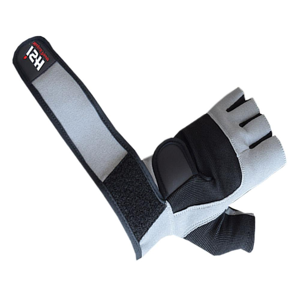 Grip Lifting Gym Power Fitness Leather Straps