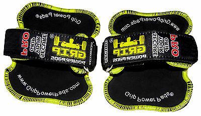 Gym Gloves PRO GRIP POWER PADS® Grips Workout Gloves Grip Pad NEW