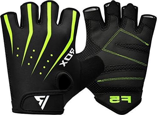 RDX Gym Gloves Workout Bodybuilding Breathable Support Training