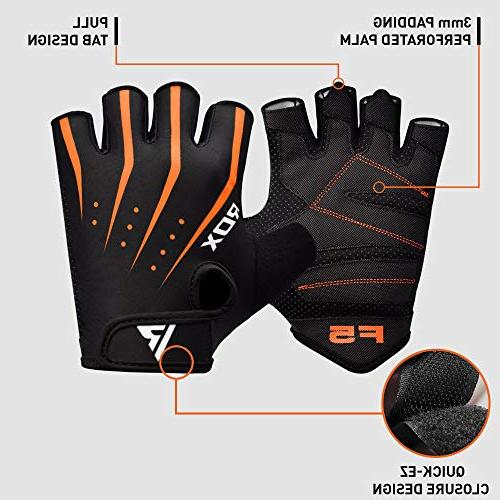 RDX Gym Weight Gloves Breathable Support Exercise