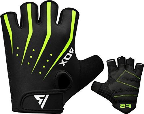 RDX Gym Gloves Workout Breathable Wrist Support Training
