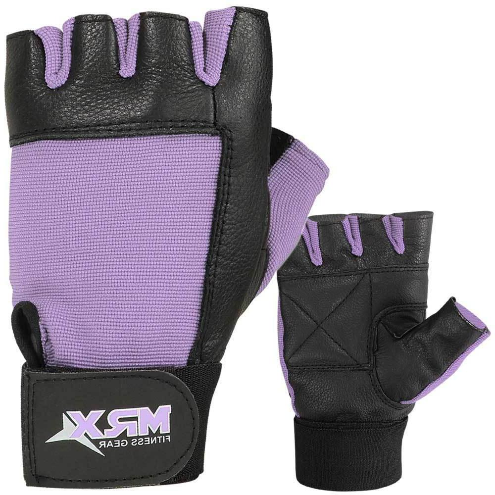 gym training leather glove weight lifting fitness