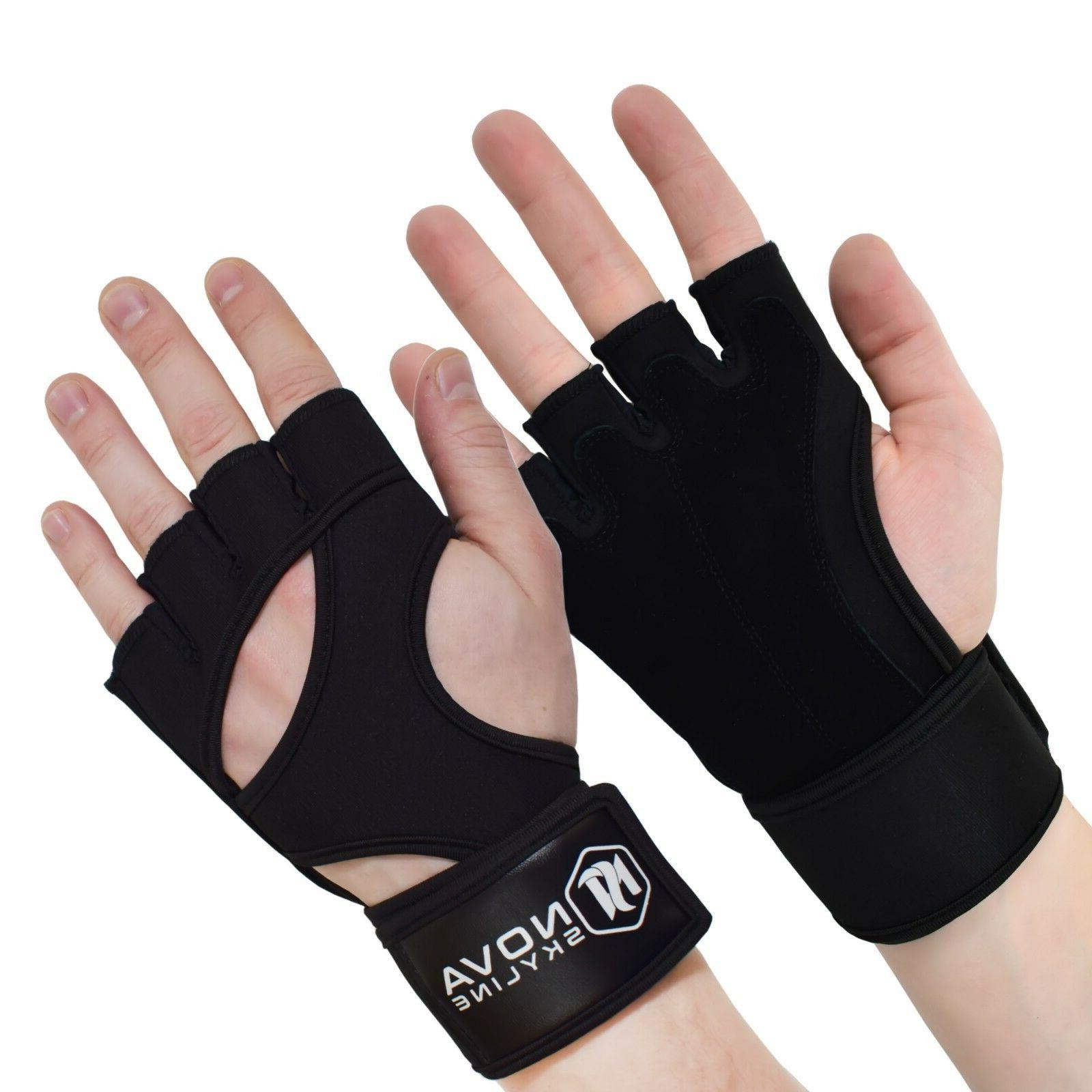 gym weightlifting exercise fitness and crossfit gloves