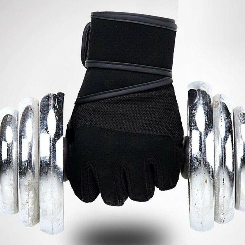 Gym Weightlifting Gloves Half Finger Dumbbell Fitness Exerci
