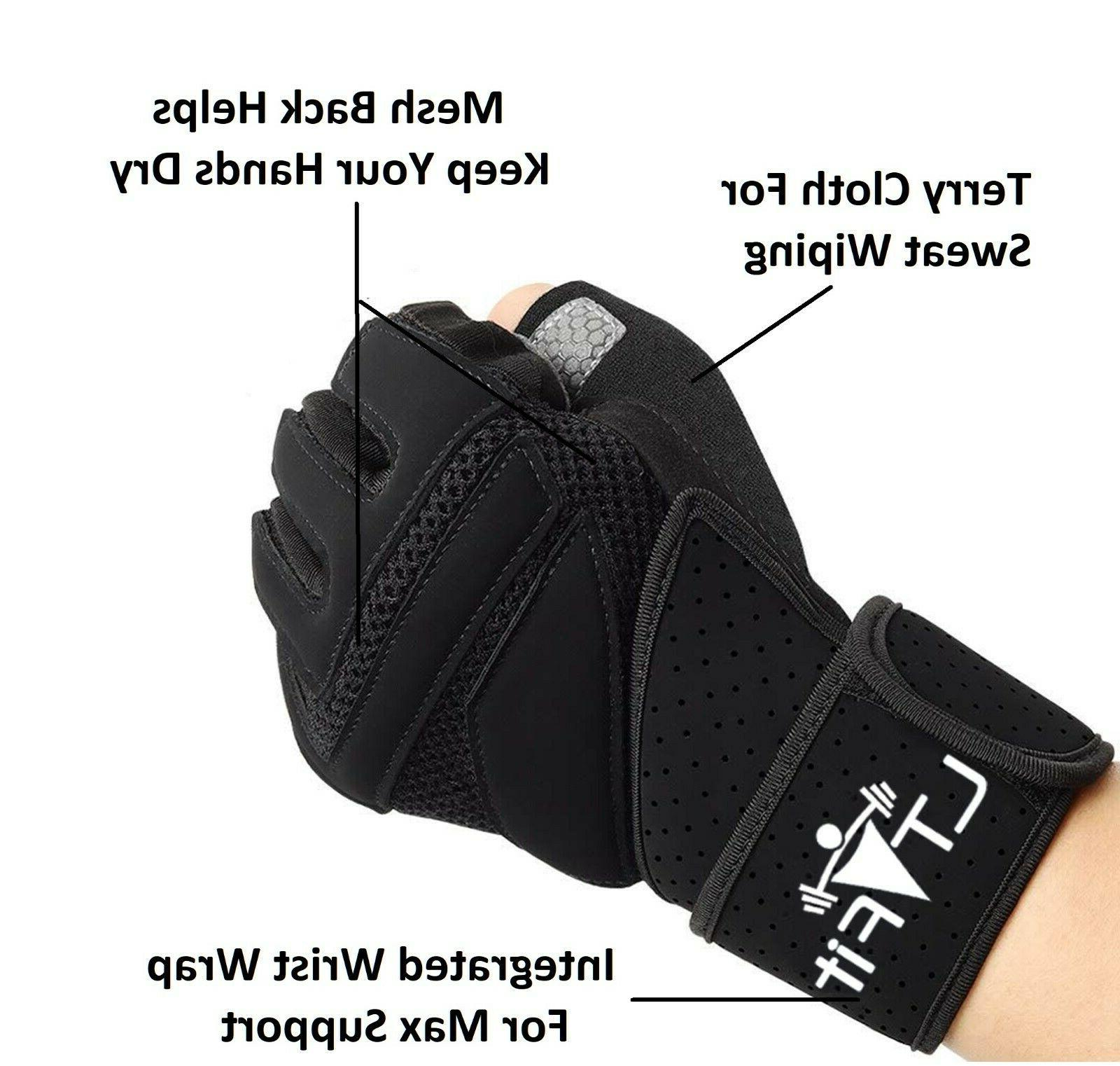 Half Gloves Sport Weight Exercise