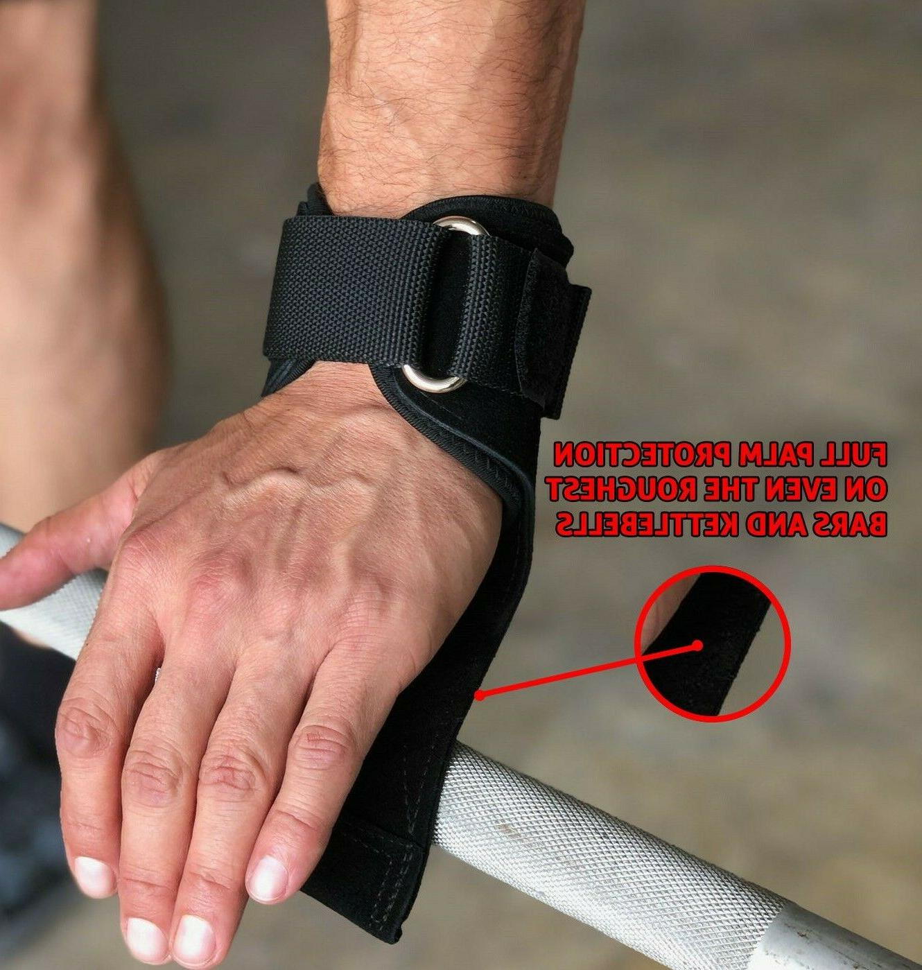 heavy duty weight power lifting gloves gym