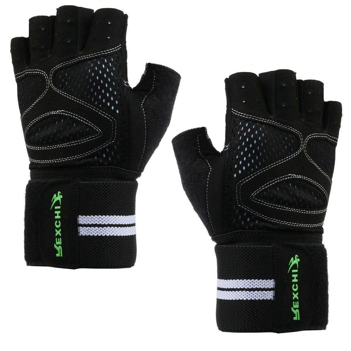 weight lifting sports gloves for workout gym