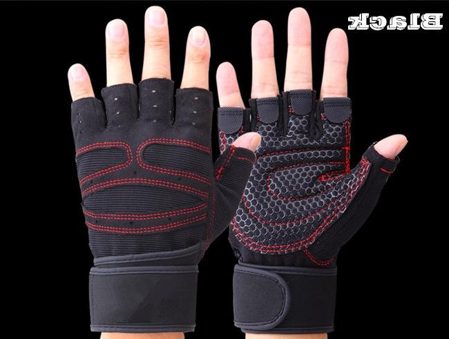 JIAZHOUHU Fitness Fingerless Breathable <font><b>Weightlifting</b></font> Finger Weight <font><b>Lifting</b></font> Gym