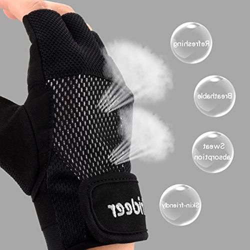 Trideer Breathable Gloves, Exercise Gloves, Gym Boating, Dumbbells,