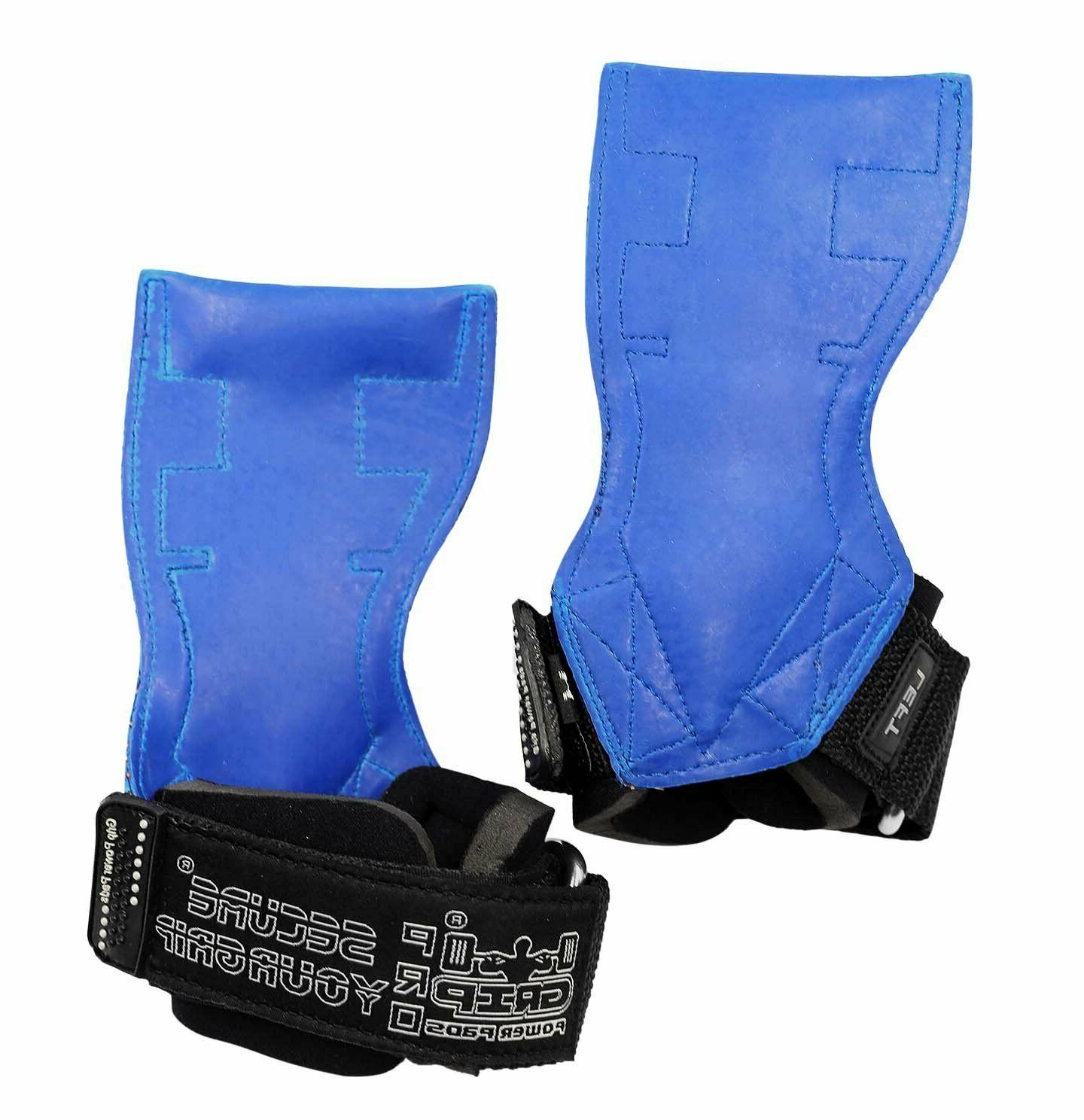Lifting Weight Gloves Heavy Duty Straps to Hook