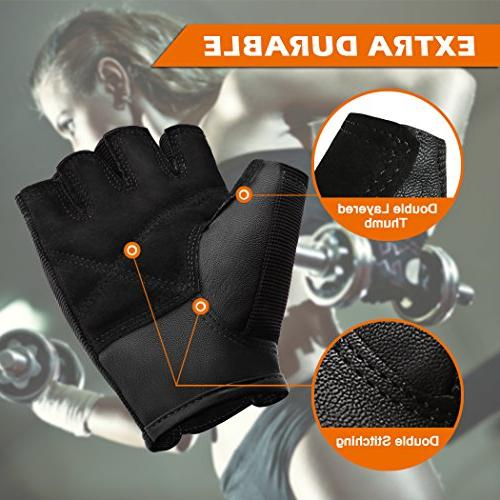 BEACE Weight Lifting Gloves with Anti-Slip Palm Exercise Training and for
