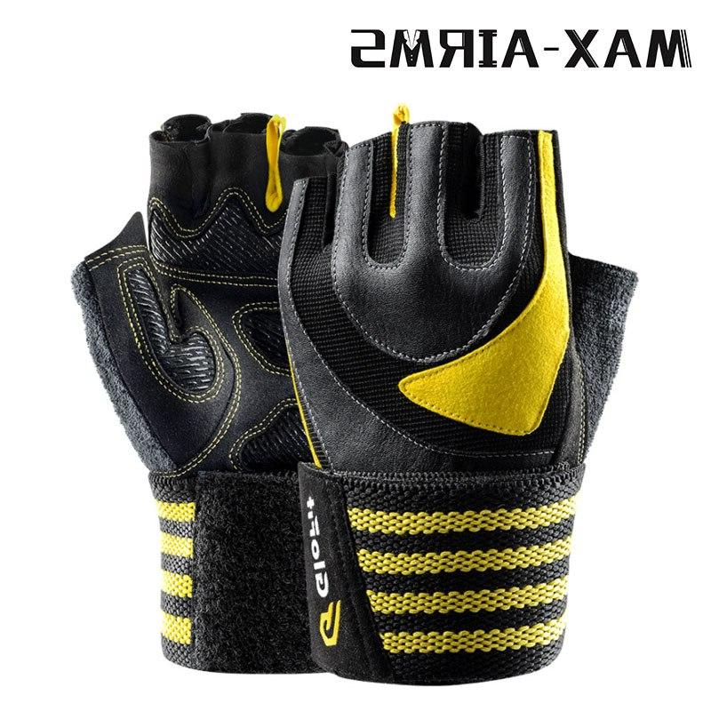 Maxairms Gym Half Finger Breathable Dumbbell Weight <font><b>lifting</b></font> Gym <font><b>Glove</b></font>