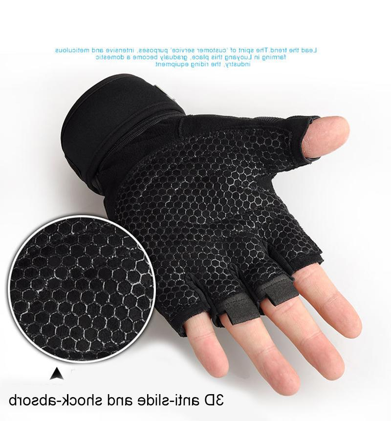 Half <font><b>Gloves</b></font> Non-Slip Breathable Support